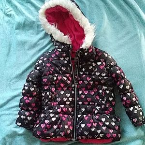 Girls Size 4 London Fog Coat